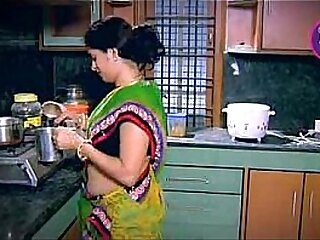 Indian Housewife Tempted Boy Neighbour uncle in Kitchen (Low)