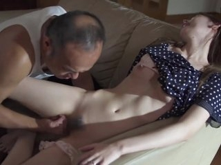 Horny Father in stance Molest and Fuck Stepdaughter